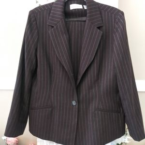 Pant Suit By Alfred Dunner Sz.14 NWOT